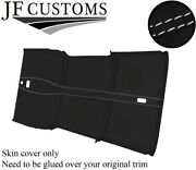 White St 3 Piece Roof Headlining Luxe Suede Cover For Land Rover Defender 110 Sw