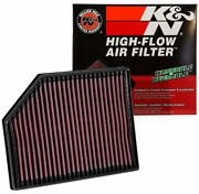 33-3065 Kandn High Flow Air Filter Fits Volvo V90 Ii S90 Xc90 2.0 And 2.0 Dsl 2016-