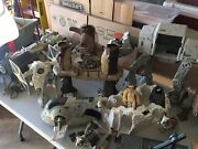 Vintage Star Wars Action Figure , Space Ships And Ewok Village Large Mixed Lot
