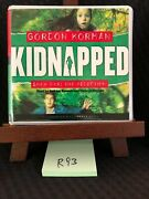 Gordon Korman Kidnapped -the Abduction Cd Audiobook Unabridged Free Shipping