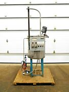 Mo-3042 Stainless 50 Gallon Chemical Mixing Tank. 304 Ss. 1/4 Hp. 115 V. 1 Ph.