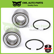 Front Wheel Bearing Pair 510050x2 For Accord Acura Honda Civic Cl Element S2000