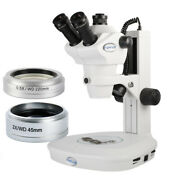 Koppace 4x-100x Stereo Microscope Wf10x/22 Eyepieces For Mobile Phone Repair