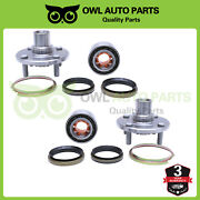 2 Front Wheel Bearings Hub Assembly For 93-02 Toyota Corolla Chevy Prizm 518507k