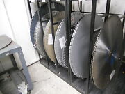 48 X 250 Ddm Concut Diamond Blade Cured Concrete Wet Cut Street Road Curb Saw