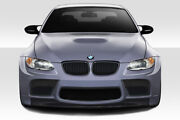 Af-5 Wide Body Front Bumper Gfk - 1 Piece For 2008-2013 M3 E92 2dr Coupe