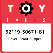 52119-30671-b1 Toyota Cover Front Bumper 5211930671b1 New Genuine Oem Part