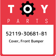 52119-30681-b1 Toyota Cover Front Bumper 5211930681b1 New Genuine Oem Part