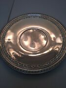Reed And Barton 1201 Round Serving Tray 10 1/2 Inches