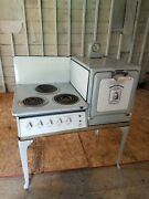 Antique Westinghouse Automatic Electric Oven- With Clock Patented April 27 1920