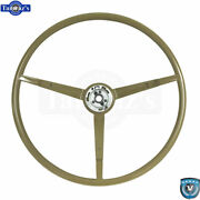 65-66 Ford Mustang Correct 15 Reproduction O.e. Style Steering Wheel - Ivy Gold