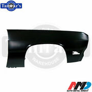 1970-1971 Plymouth Duster Scamp Front Fender - New Tooling - Amd - Rh