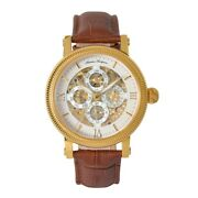 Thomas Tompion Mens Sundial Watch Rrp £365 Brand New And Boxed