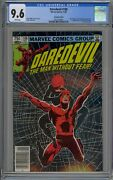 Daredevil 188 Cgc 9.6 Nm+ Wp 1st Stone Claw Shaft Marvel 1982 Canadian Edition