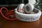 Beats Pro By Dr. Dre Beats Ep Headband Headphones - White And Red