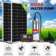 2100w Mono Solar Panel+24v Stainless Steel Water Pump +20a Charge Controller