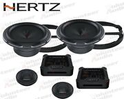 Hertz Mlk165.3 6.5 150w Rms Direct Fit Component Set Speakers