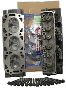 Ford Taurus Ranger Sable 3.0 V6 Cylinder Heads Pair W/head Set And Bolts 86-99 8mm