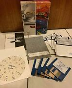 Altered Destiny Accolade Ibm Pc Tandy Box Manual 3.5 And 5 1/4 Floppy Disc Poster
