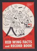 1960 Detroit Red Wings Fact Book/record Book/media Guide - Scarce Beauty