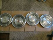 Gently/used 1968/69 Cadillac Fleetwood/deville Wheelcover Set/four Clean Units
