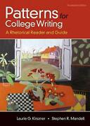 Patterns For College Writing A Rhetorical Reader And Guide By Laurie G. Kirszne