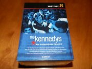 History Channel Presents The Kennedys An American Family Kennedy 9 Dvd Set New
