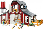 Playmobil Country 9315 Barn With Silo 222 Pieces See Pictures New Toys