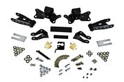 Belltech Shackle + Hanger Kit For 97-00 Chevy/gmc 3/4 And 1 Ton 4 Rear Drop