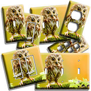 Cute Little Baby Owl Light Switch Outlet Wall Plates Bedroom Nursery Room Decor