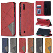 10pcs/lot Prismatic Magnetic Holster Credit Card Leather Case For Iphone Sam