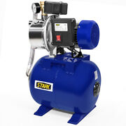 1.5 Hp 1215gph Shallow Well Garden Pump With Booster System And Pressure Tank