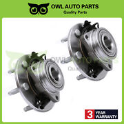 2 Front Wheel Bearing Hub Assembly Lh And Rh For Chevy Gmc Cadillac Awd 4x4 515096