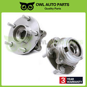 Front Wheel Bearing Hub Left Right For 07-12 Nissan Altima W/abs 2.5l 513294 X2