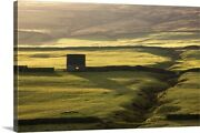 Stone Building And Walls Weardale Canvas Wall Art Print Field Home Decor