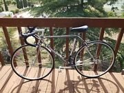 Racing Bicycle Faggin Glossy Dark Grey, 53 Cm, Cinelli, Campi Parts, Gently Used