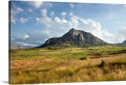 Landscape In The Region Of Ambalavao, Canvas Wall Art Print, Africa Home Decor