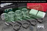 Cp X-style Pistons Brian Crower H Beam Rods Vtec B18a B18b 81.5mm 12.51