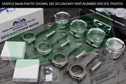 Cp Pistons Eagle Rods Civic Si B16 B16a B16a2 83mm 9.81