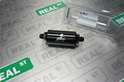Aeromotive In-line Filter Black An -8 Male 10 Micron Cellulose Filter 12377