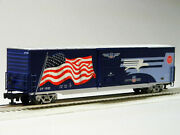 Lionel Mp Heritage Flag Boxcar 1982 Led Light O Gauge Freight Train 6-85404 New