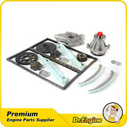Timing Chain Kit Water Oil Pump For 97-00 Ford Expedition F-150 Heritage 4.6l