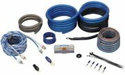 Rockville Rwk4cu 4 Awg Gauge 100 Copper Complete Amp Installation Wire Kit Ofc