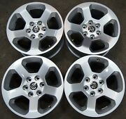 4 New Takeoff 2019-21 Dodge Ram 1500 6 Lug 18 Factory Oem Wheels Rims 2670