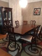 Beautiful Mahogany Dining Room Set 10 Pieces For Sale By Owner.