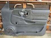 Gently Used 1998-05 Chevrolet S10/15 Interior Manual/right Door Panel/charcoal