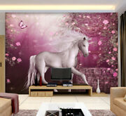 3d Butterfly Unicor A02 Wallpaper Wall Mural Removable Self-adhesive Sticker Zoe