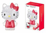 36 Piece Crystal Gallery Hello Kitty 3d Puzzle Figure Decorate Japan F/s
