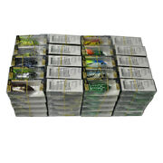 100pcs Rubber Frog Fishing Lures Soft Float Bait 6cm/2.3and039and039 With Retail Box