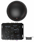 Mtx 7515-44 15 750w Rms Competition Subwoofer Car Audio Sub+memphis Crossover
